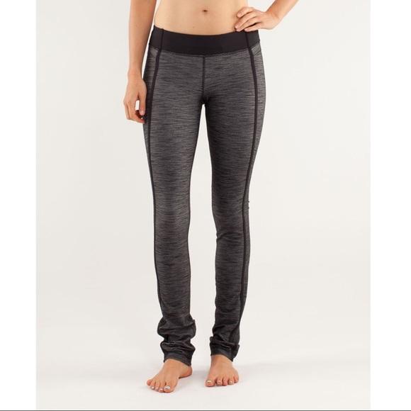 LULULEMON 'Forme Pant' Reversible Slub Leggings